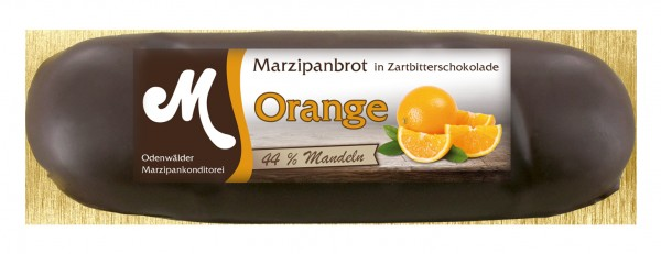 Orangen Marzipanbrot