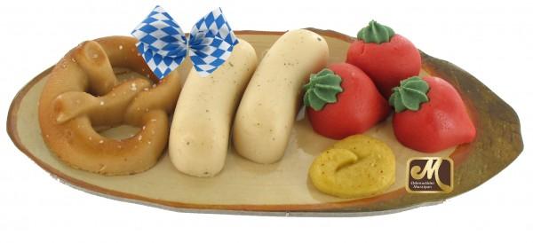 Bavarian Vesper - snack plate