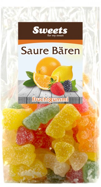 "Fruit gum ""Sour Bears"""