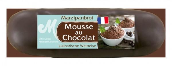 Mousse au Chocolat Marzipanbrot