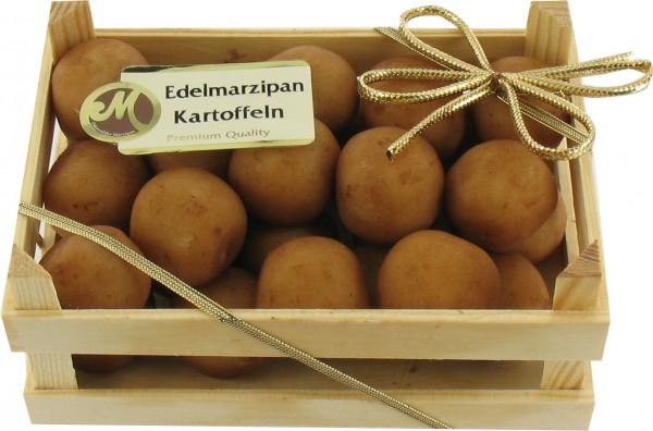 Kartoffeln in der Holzkiste