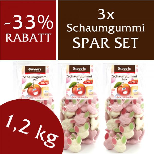Spar Set Schaumgummi 1,2 kg