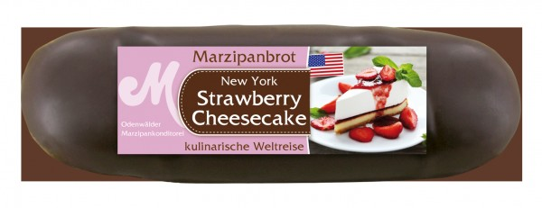 Strawberry Cheesecake Marzipanbrot