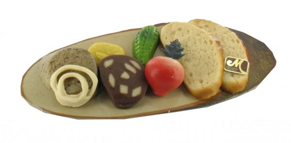 "Farmer`s snack plate ""Bauernvesper"""