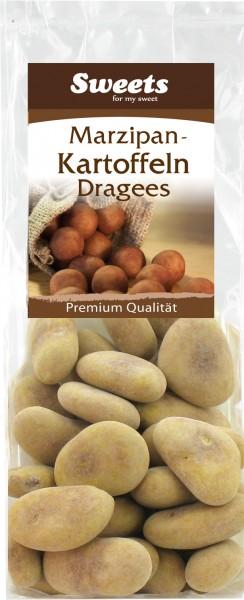 Dragierte Marzipankartoffeln