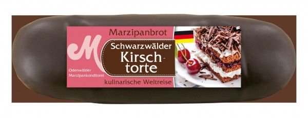 Black Forest Cherry Marzipan loaf