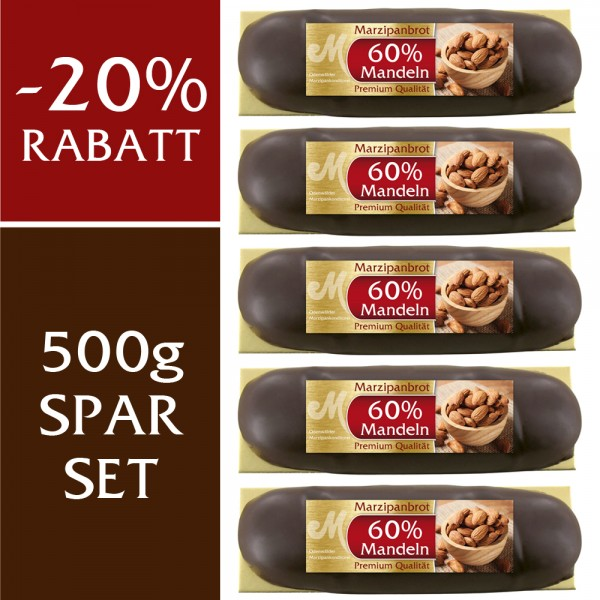 Spar Set Premium Marzipanbrot 60% 500g