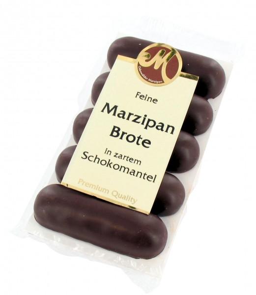 Marzipanbrot mit Zartbitterschokolade
