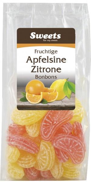 Apfelsinen Zitronen Bonbons