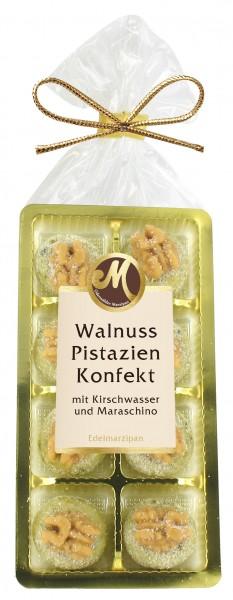 Walnut-pistachio confectionery