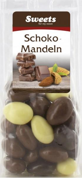 Schoko Mandeln