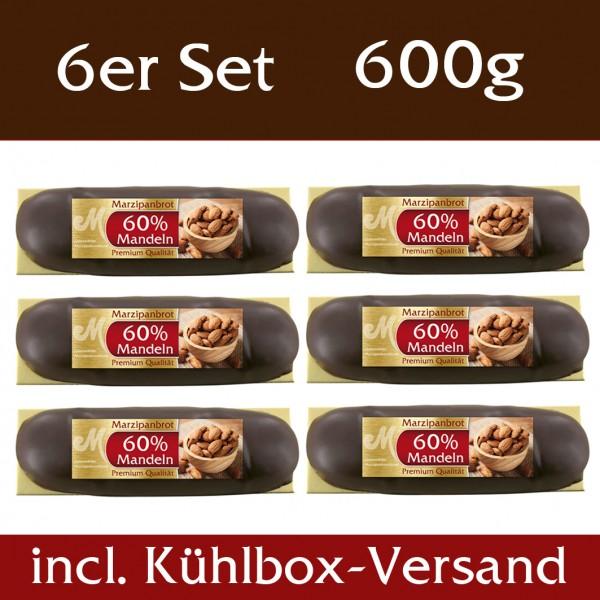 Brot 60% Mandeln 6er Set incl. Kühlbox Versand